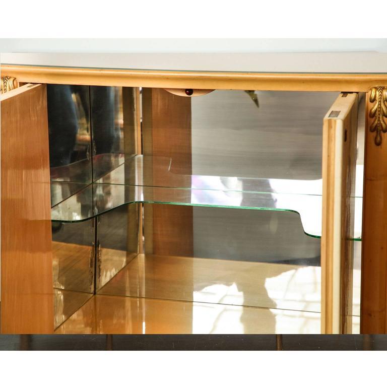 Italian Giovanni Gariboldi Bar Cabinet For Sale
