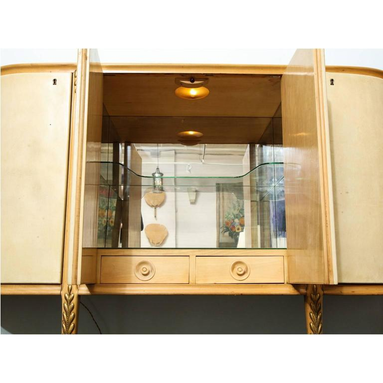 Giovanni Gariboldi Bar Cabinet In Excellent Condition For Sale In New York, NY