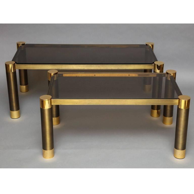 Karl springer near pair of coffee tables for sale at 1stdibs for Coffee tables for sale near me