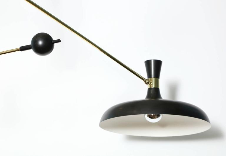 Mid-Century Modern Fedele Papagni Mobile Hanging Light For Sale