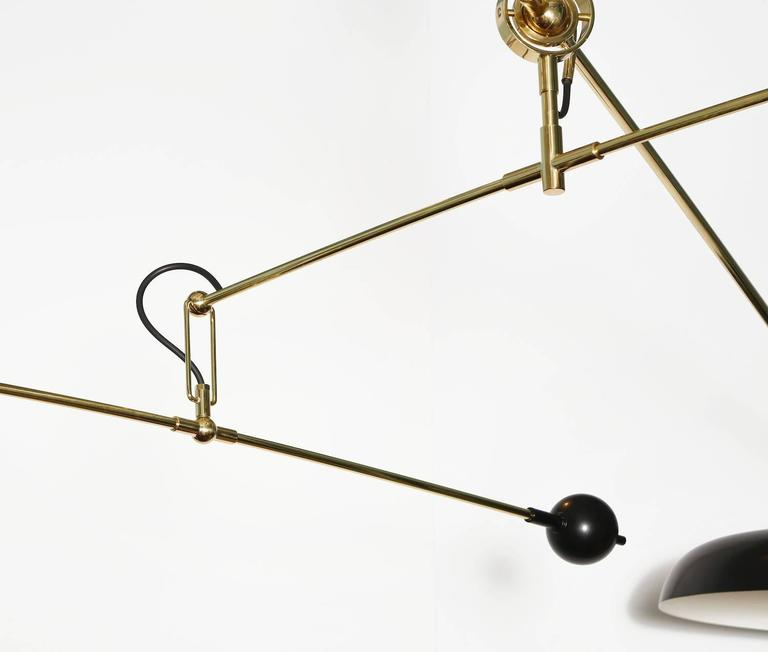 Contemporary Fedele Papagni Mobile Hanging Light For Sale