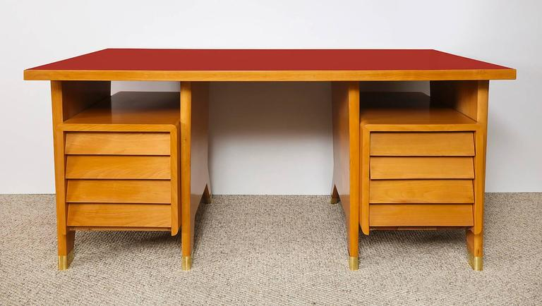 Gio Ponti Desk   In Excellent Condition For Sale In New York, NY