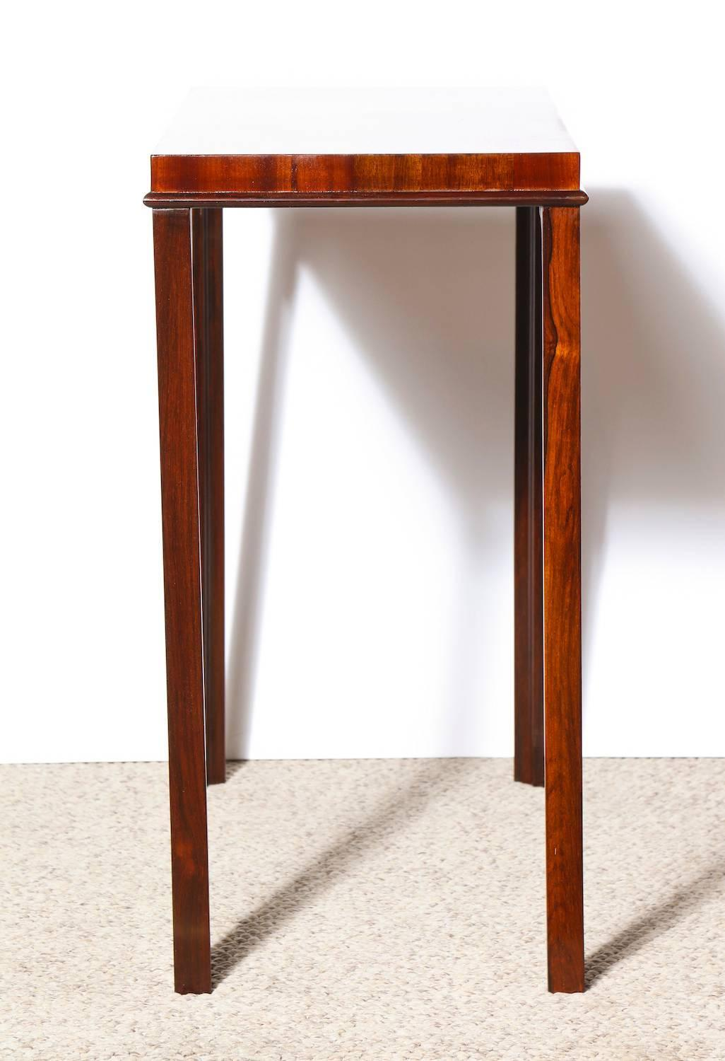 Unique console table by eugene schoen for sale at 1stdibs for Unusual tables for sale