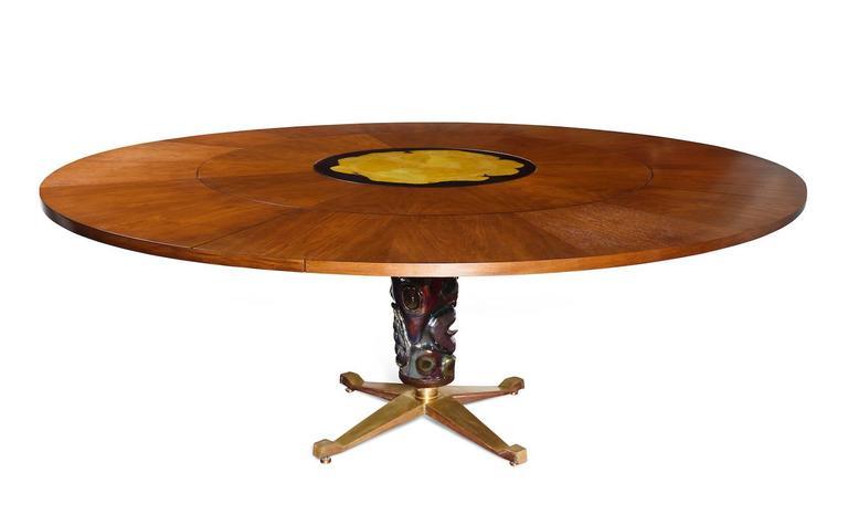 Italian Melchiorre Bega Dining Table For Sale