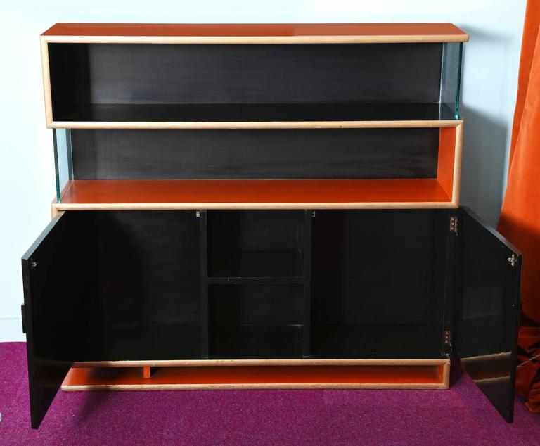 American Modern Paul Frankl Bookcase For Sale