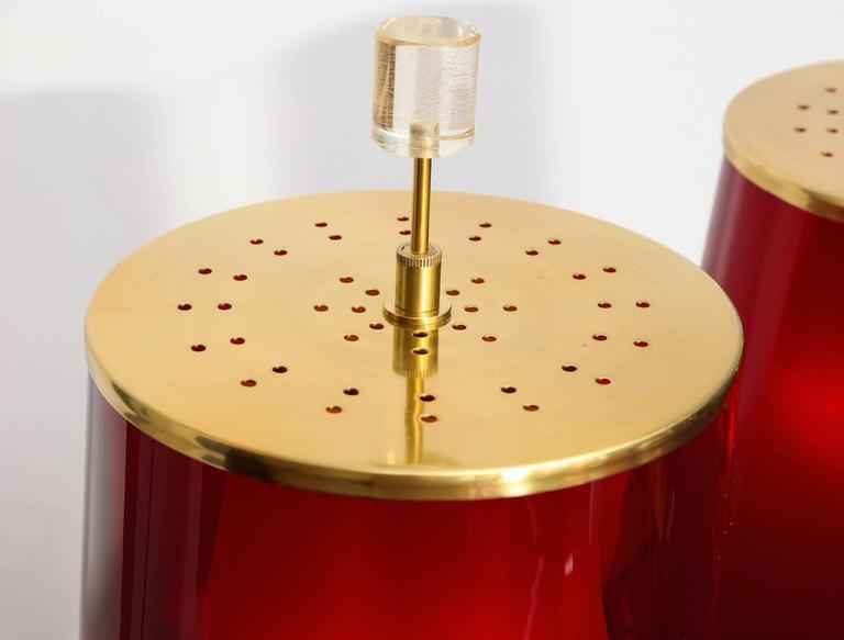 Mid-Century Modern Roberto Giulio Rida Table Lamps For Sale