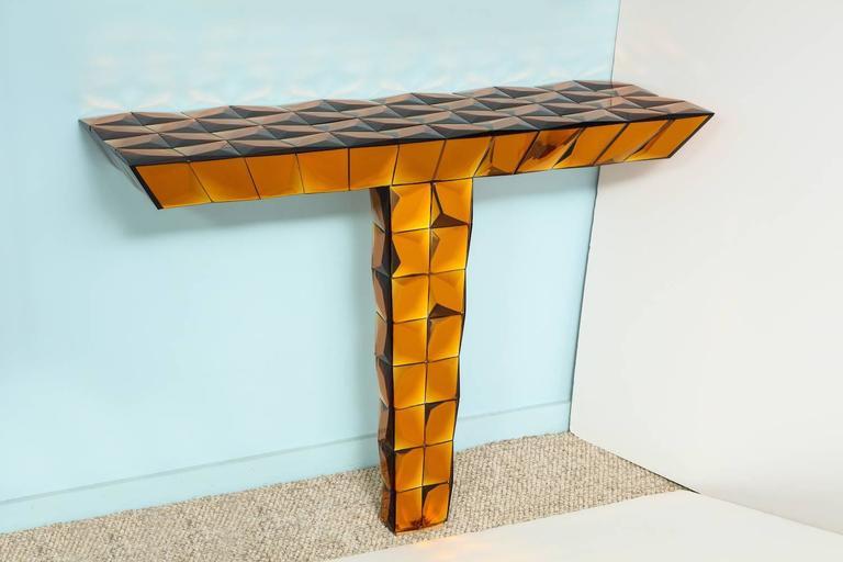 Italian Roberto Giulio Rida Console Table For Sale