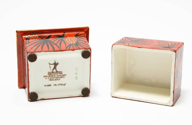 Gio Ponti Lidded Box In Excellent Condition For Sale In New York, NY