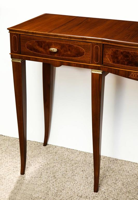 Paolo Buffa Console Table In Excellent Condition For Sale In New York, NY