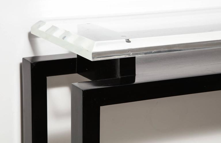 Mid-Century Modern Paul Lászlo Console Table For Sale