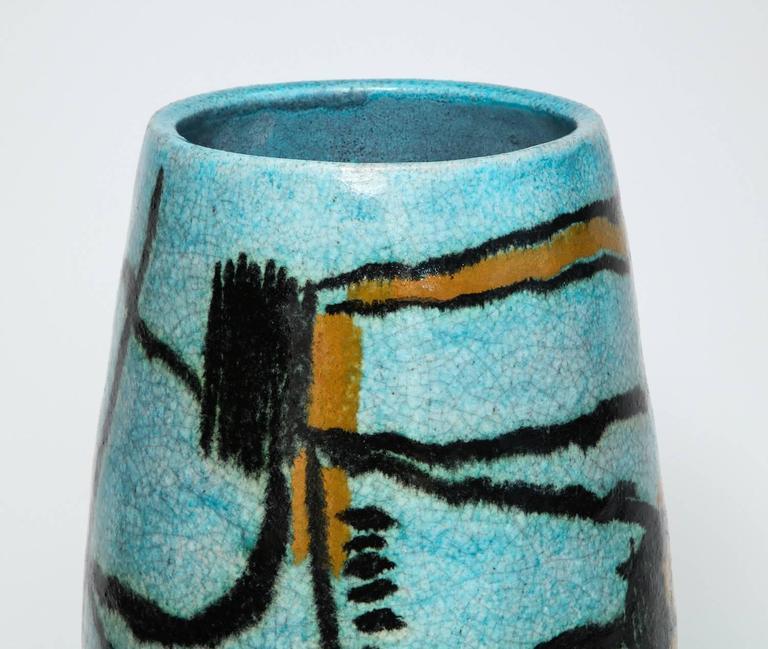 Large Studio Vase By Umberto Zannoni At 1stdibs