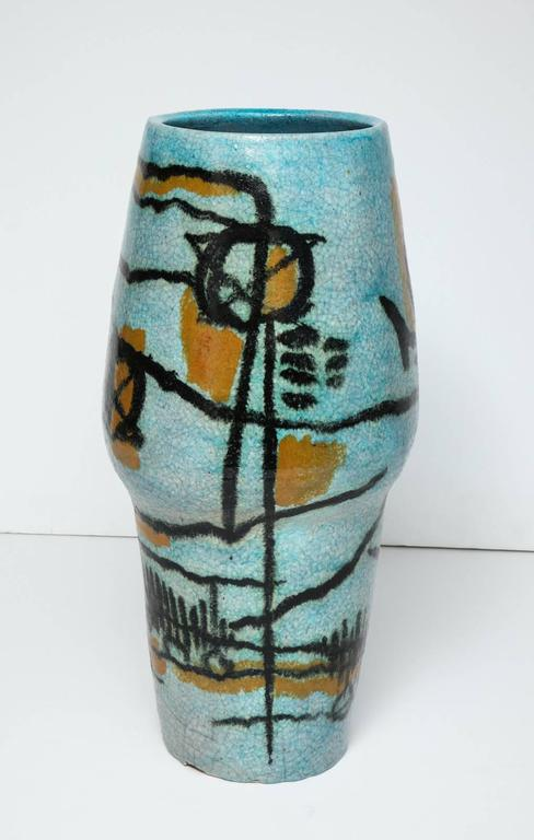Large Studio Vase By Umberto Zannoni At 1stdibs