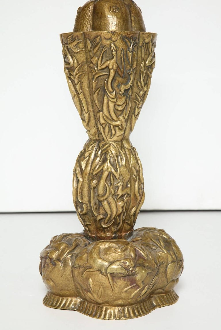 Art Deco Karl Hagenauer Table Lamp For Sale