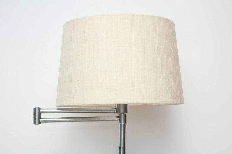 Nessen Studio Swing Arm Floor Lamp For Sale At 1stdibs