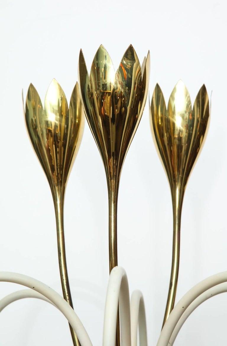 Mid-Century Modern Angelo Lelii Floor Lamp For Sale