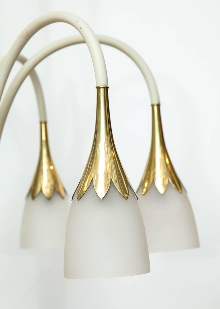 Italian Angelo Lelii Floor Lamp For Sale