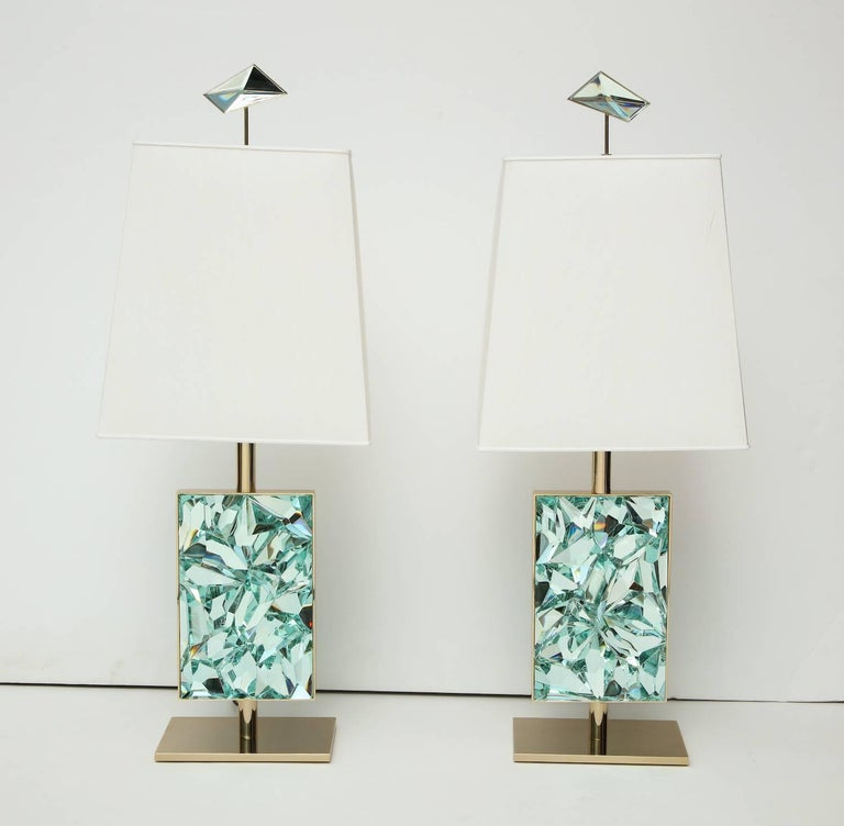 Ghiró Studio Table Lamps In Excellent Condition For Sale In New York, NY