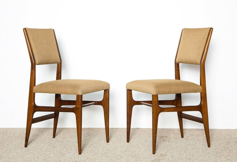 Pair of side chairs by Gio Ponti for M. Singer & Sons.
