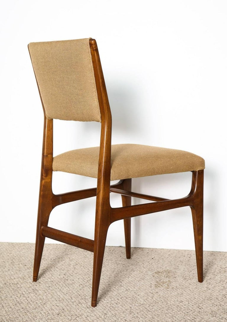 Mid-Century Modern Gio Ponti Side Chairs For Sale