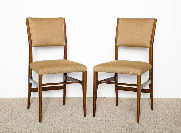 Gio Ponti Side Chairs In Excellent Condition In New York, NY