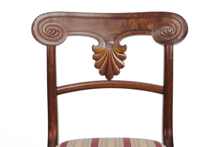 Set of 20 Early 19th Century Regency Mahogany Dining Chairs For Sale 2