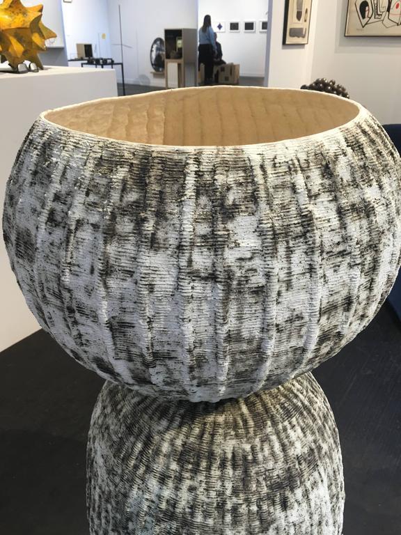 Organic Modern Kristina Riska, Ceramic Bubble Urn III B Finland 2015 For Sale