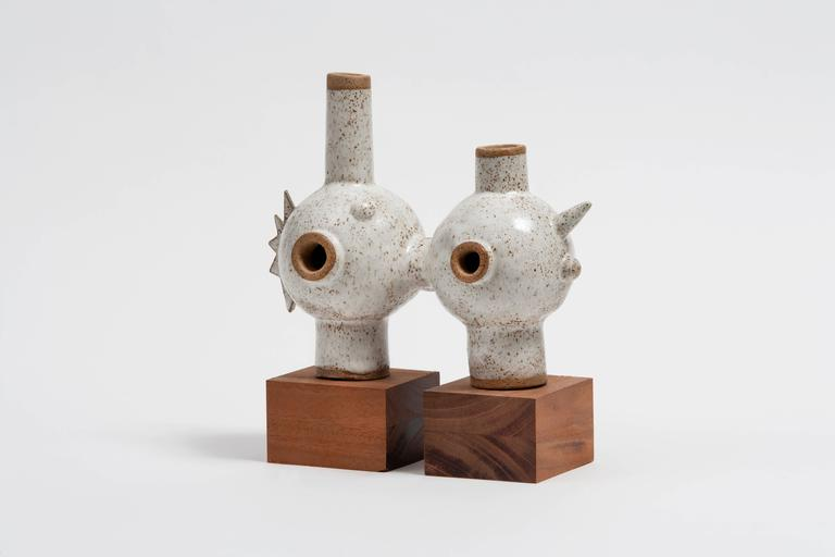 Ceramic sculpture by Carlos Otero, 2016.