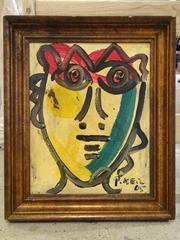 Modern Portrait by Keil