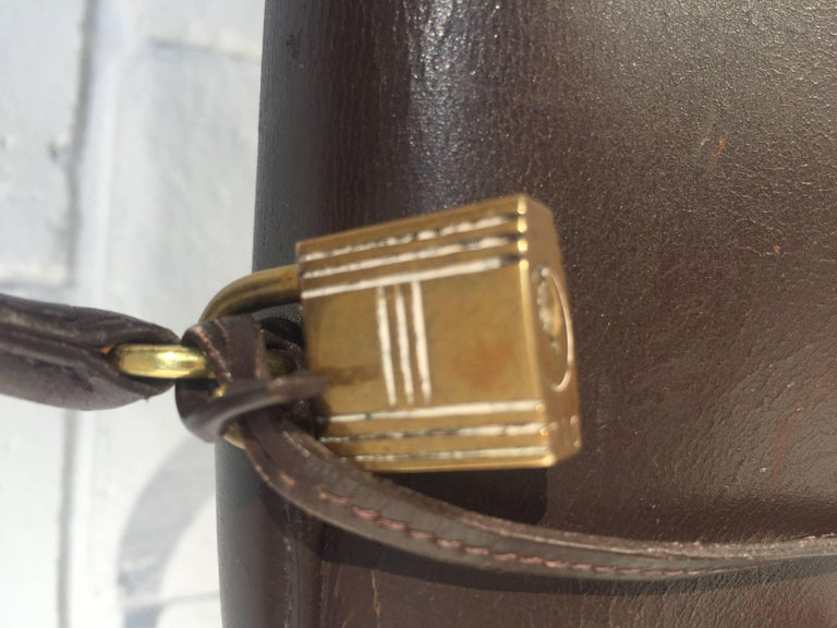 French Hermes Paris for Bonwit Teller Kelly Bag For Sale