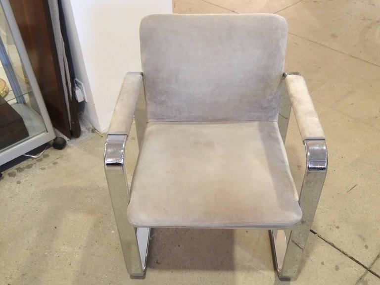 Pair of Italian Armchairs For Sale 1
