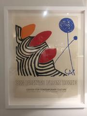 """Big Prints From Rome"" Poster by Calder"