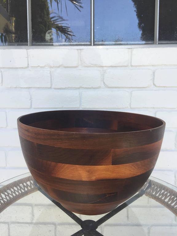 A most beautiful Danish modern style salad bowl.