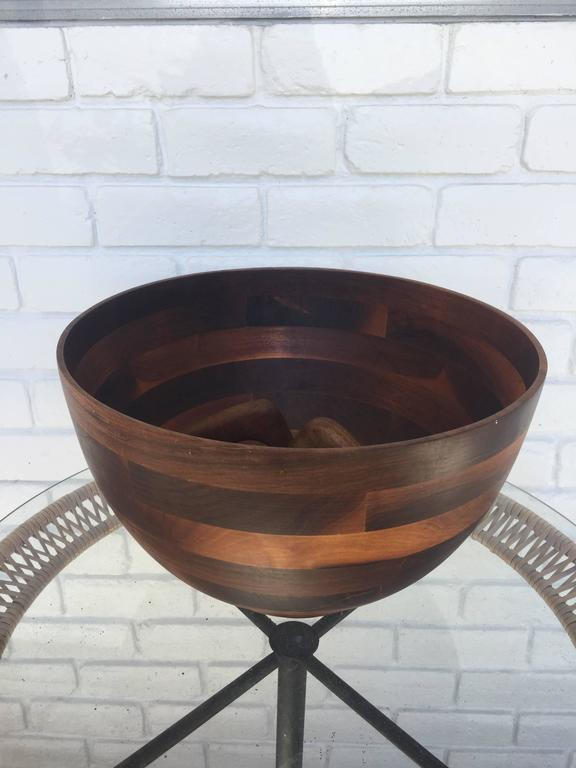 Mid-Century Modern Danish Modern Style Salad Bowl For Sale