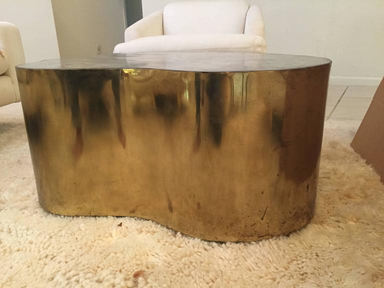 Silas Seandel Biomorphic Coffee Table In Good Condition For Sale In North Miami, FL
