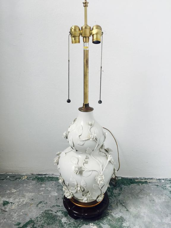 Pair of Blanc de Chine Lamps by Marbro 2