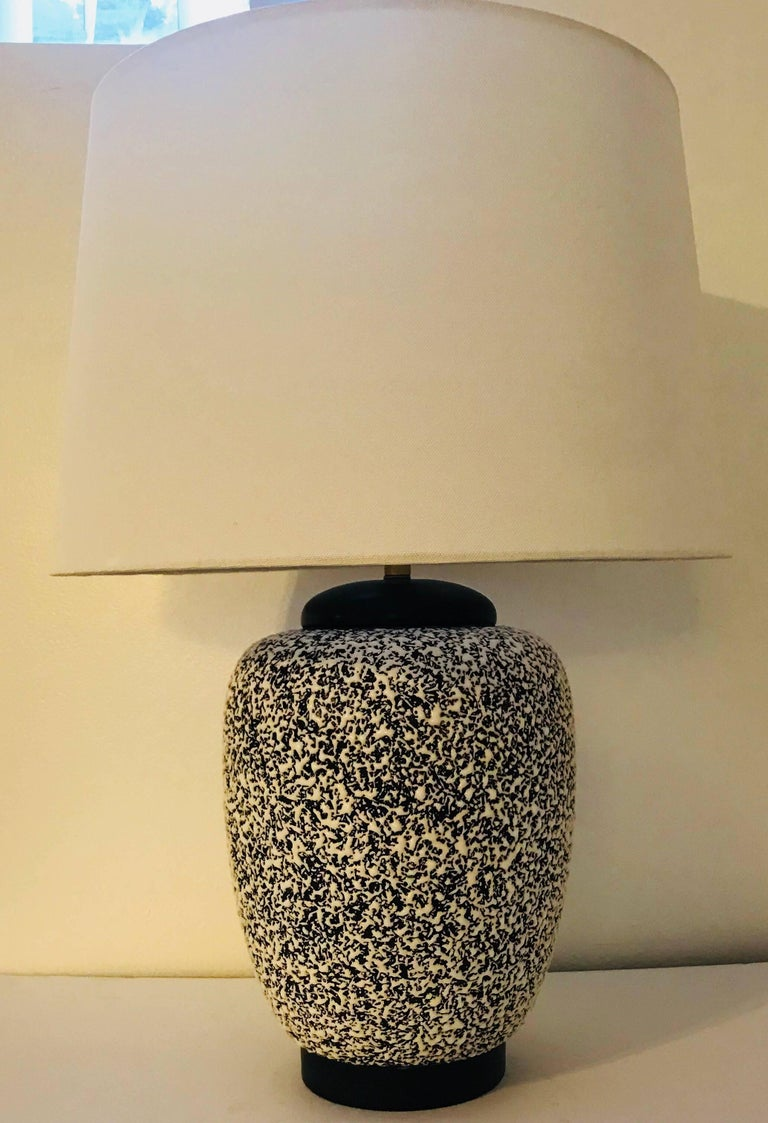 Paul Milet Sevres French Deco 1930s Table Lamp Jean Besnard For Sale 4
