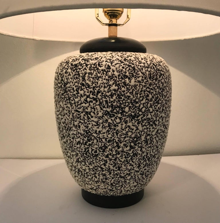 Art Deco Paul Milet Sevres French Deco 1930s Table Lamp Jean Besnard For Sale