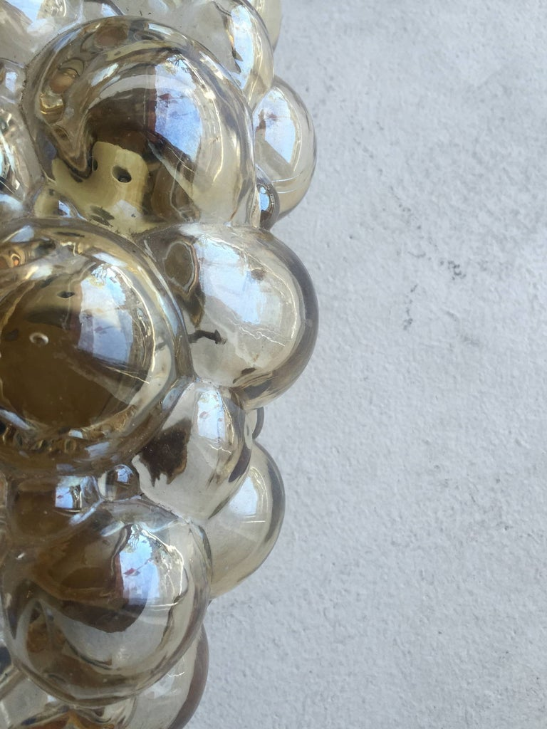 Mid-20th Century Pair of Limburg Helena Tynell Bubble Wall Lights For Sale