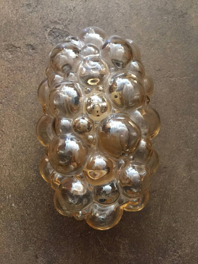 Brass Pair of Limburg Helena Tynell Bubble Wall Lights For Sale