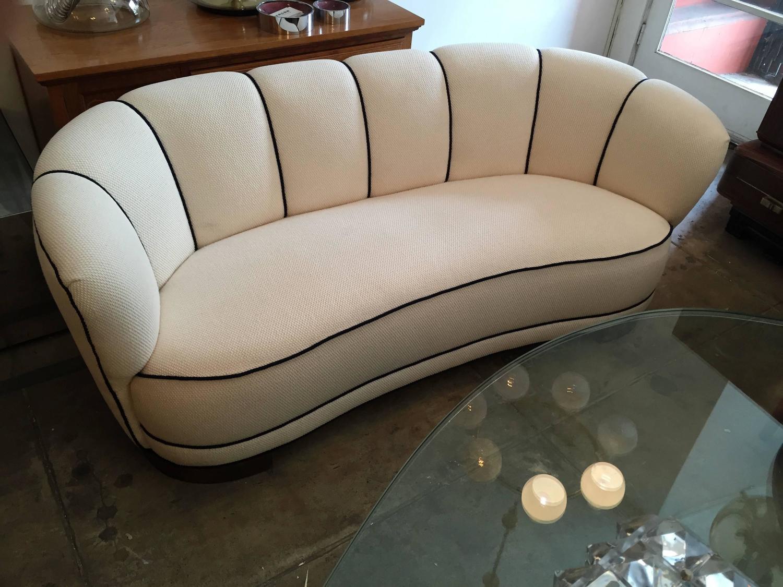 Swedish Art Deco Sofa For Sale at 1stdibs