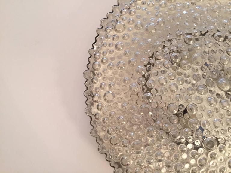 Grand Limburg Glass, 1960s Flush Ceiling Light 4