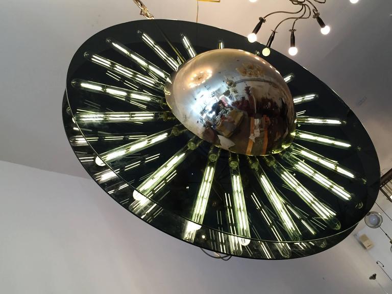 Modern Grand Saturno Pendant Chandelier For Sale