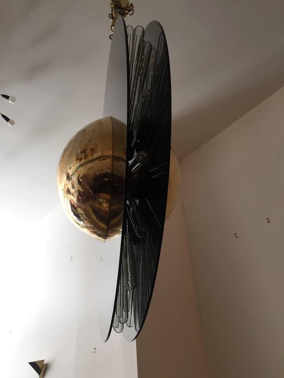 Grand Saturno Pendant Chandelier For Sale 2