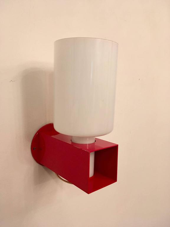 Pair of Italian 1980s Modernist Wall Lights 4