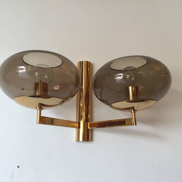 Set of Three Sciolari 1960s Wall Lights 2