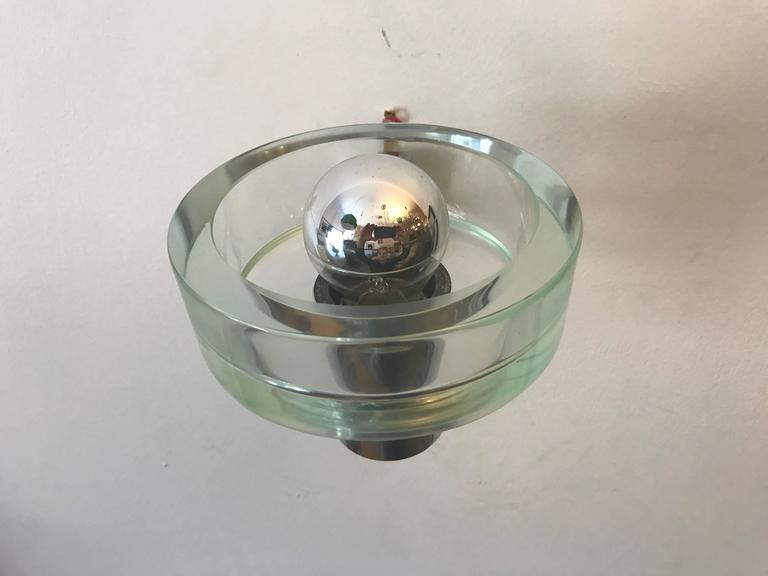 Pair of 1960s Seguso Murano Glass Wall Lights 7