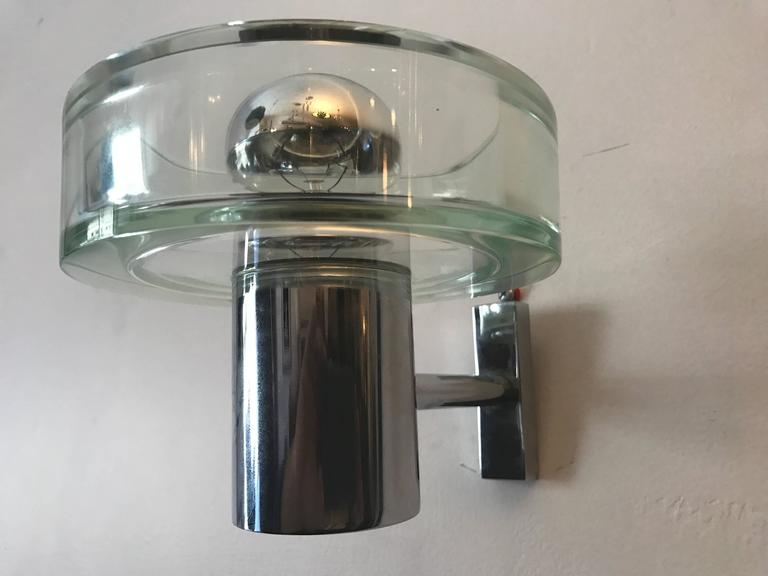 Pair of 1960s Seguso Murano Glass Wall Lights 9
