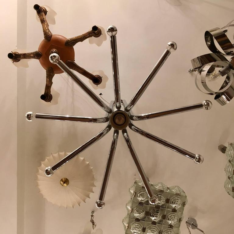 Esperia 1970s Italian Sculptural Ceiling Light 5