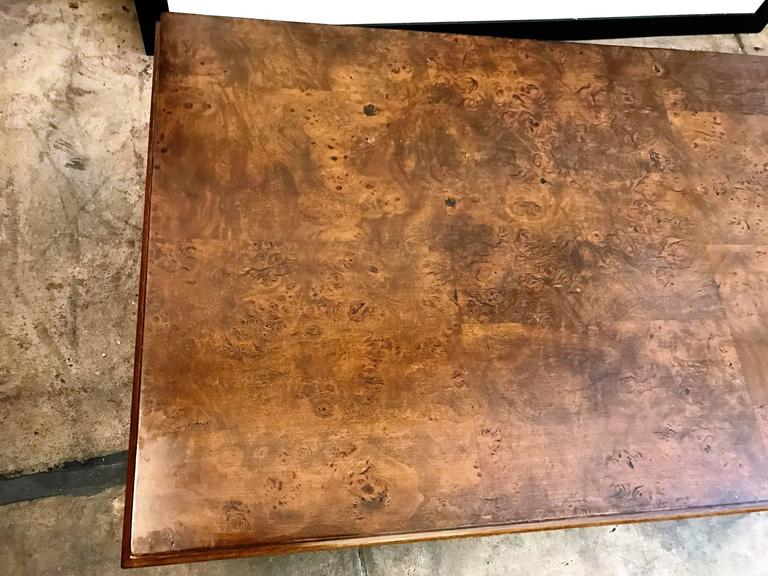 Tomlinson American 1960s Walnut Coffee Table For Sale 2
