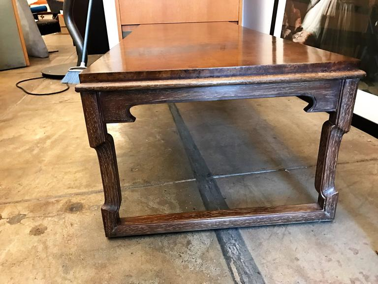 Tomlinson American 1960s Walnut Coffee Table For Sale 5